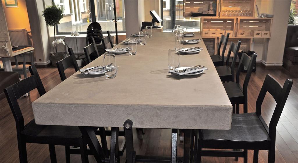 rivestimento tavolo claystone